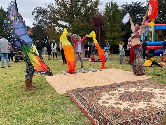 Family Fun Day (Belly dance workshop)
